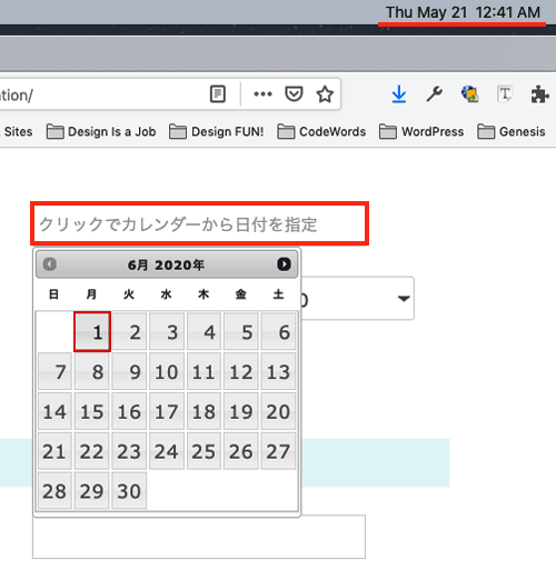 jQuery Datepicker dynamically disabling May 2020